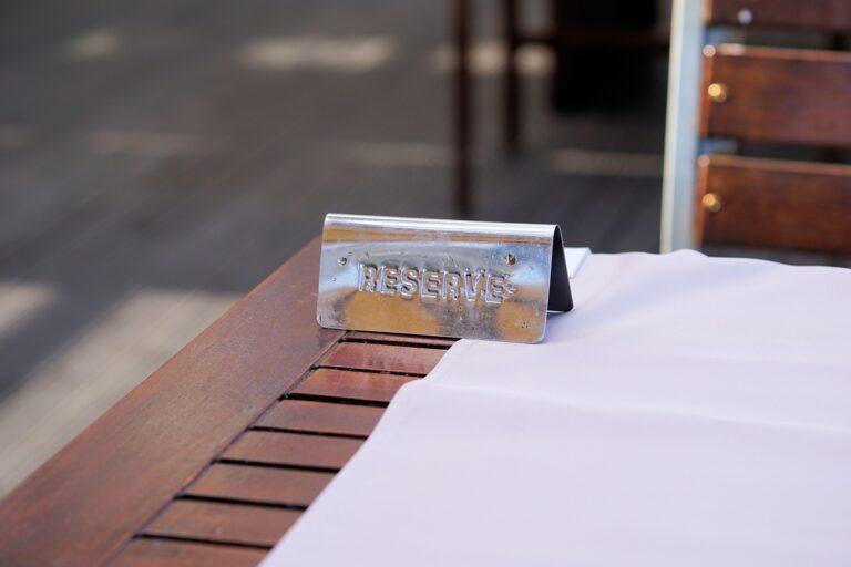 Bra att alltid boka bord!